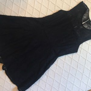 Banana Republic Black Lace cocktail dress